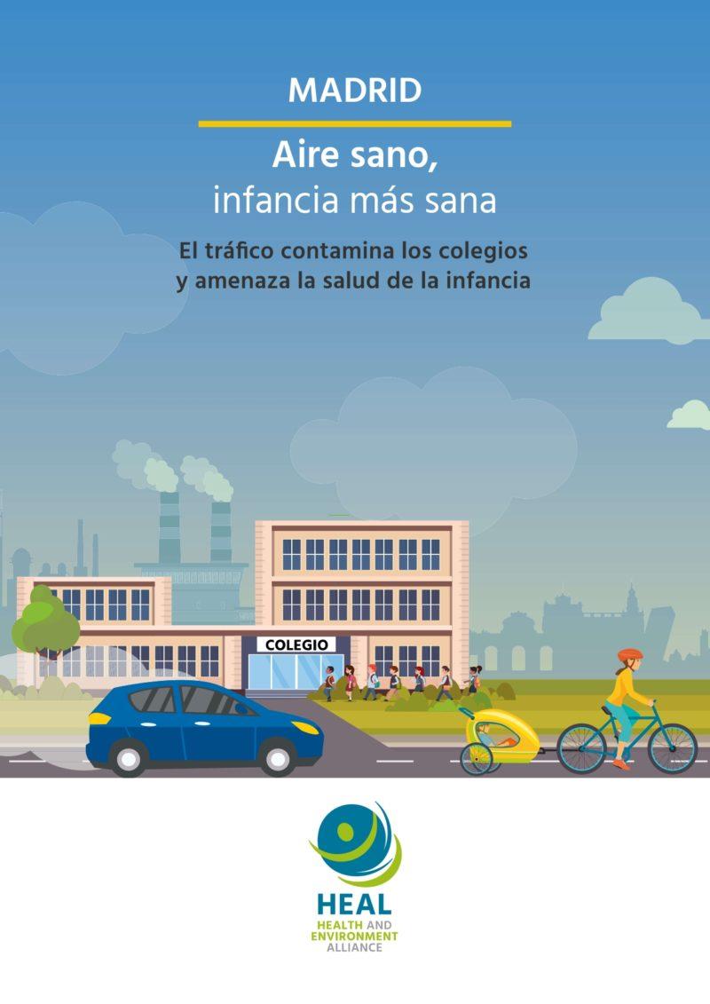 Madrid: Informe contaminación en colegios y la salud de la infancia