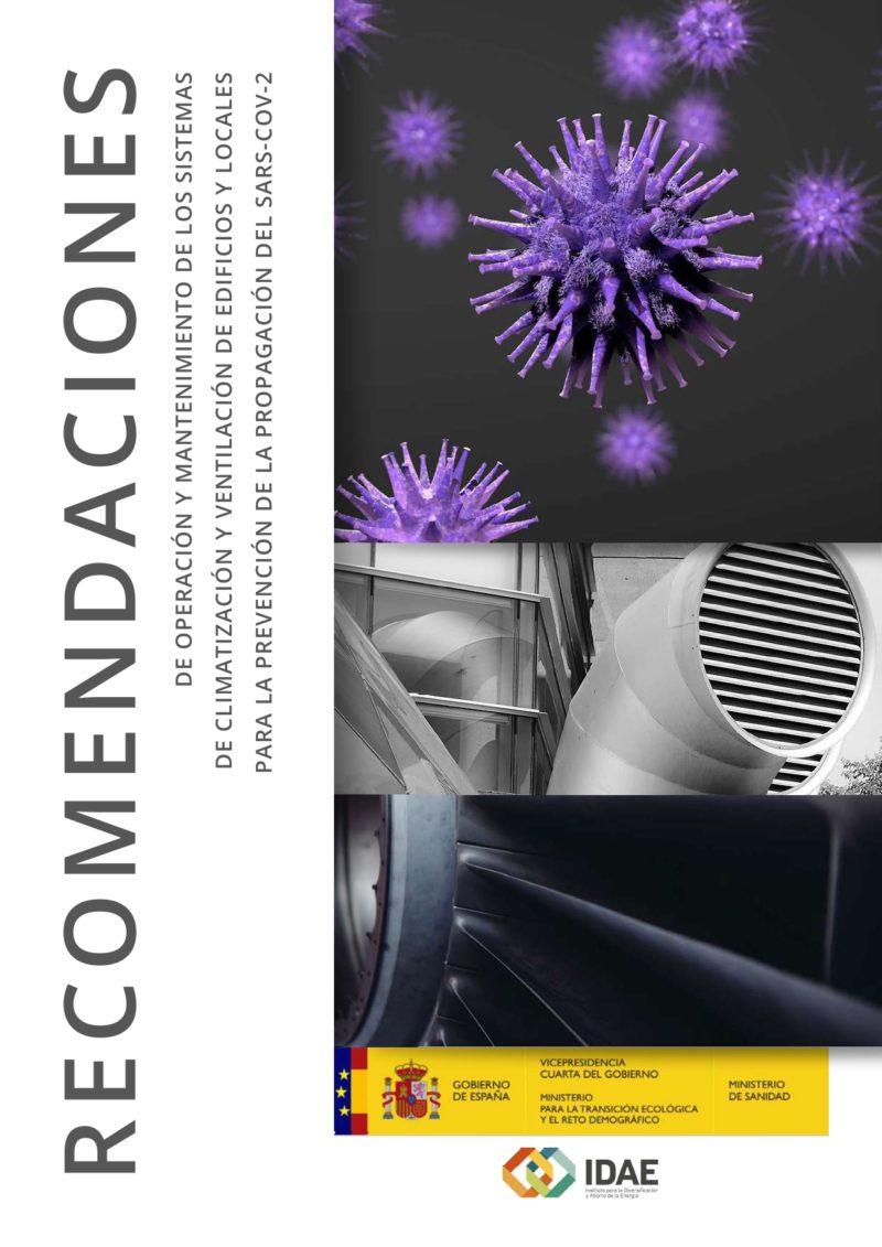 Recomendaciones en sistemas HVAC por COVID-19